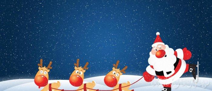 Дед Мороз шалит, как маленький